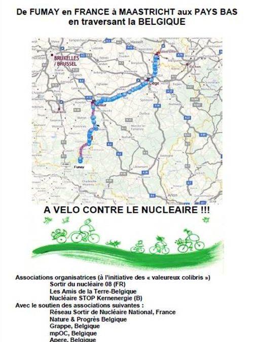 Une caravane cycliste pour dire non au nucléaire