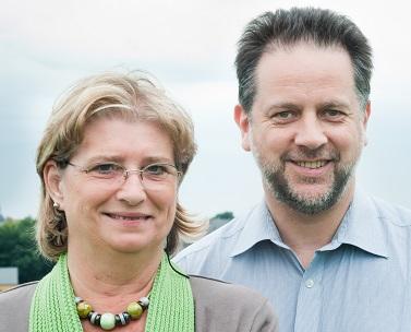 Ma 11/04 – Marylou Homs et Corentin Roulin co-présidents d'ECOLO Braine-l'Alleud