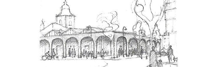 Proposition : une halle pour redynamiser le centre-ville