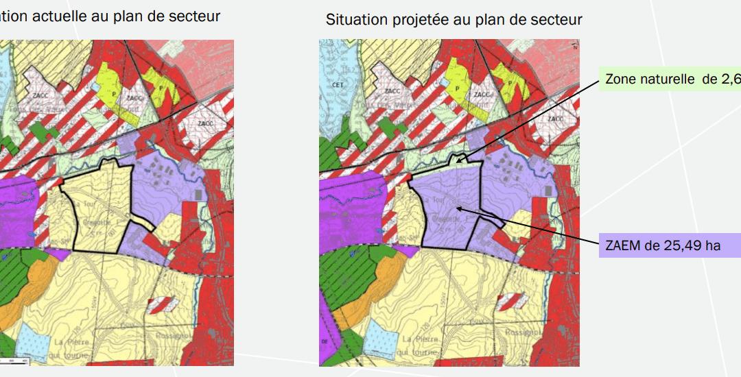 Un nouveau zoning ? Au lieu d'occuper les espaces verts, occupons les espaces vides
