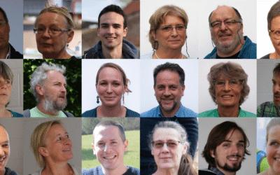 Les 33 candidats ECOLO pour les élections communales