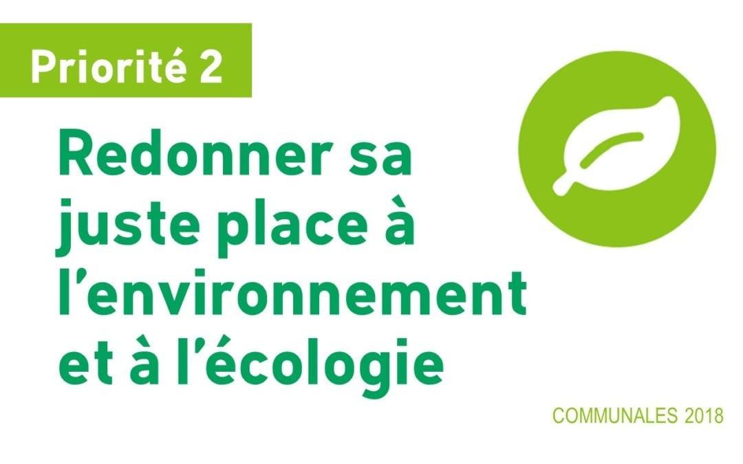 Une commune durable