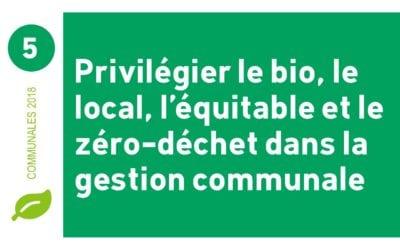 Une commune écologiquement exemplaire