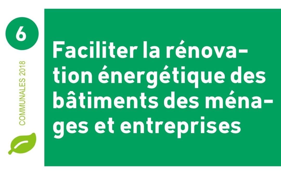 La rénovation énergétique à la portée de tous