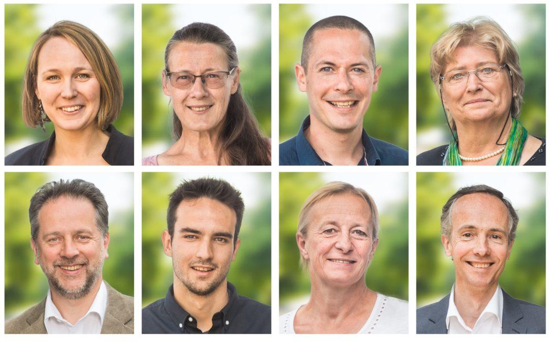 Conseillers communaux et du CPAS pour ECOLO à Braine-l'Alleud : une nouvelle équipe compétente et dynamique