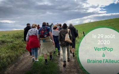 Vert Pop 2020 à Braine-l'Alleud – Production alimentaire au sein d'un maillage social et écologique